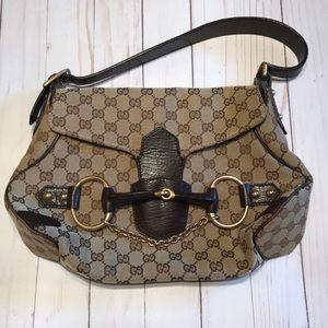 Authentic Gucci Horsebit Bag